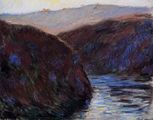 Claude Monet - Valley of the Creuse, Evening Effect