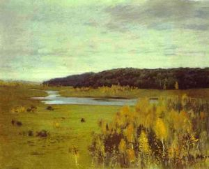 Isaak Ilyich Levitan - Valley of the River. Autumn