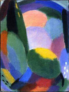 Alexej Georgewitsch Von Jawlensky - Variation: Glorious Evening - Summer Blessing II