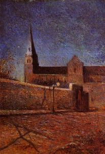 Paul Gauguin - Vaugirard Church by Night