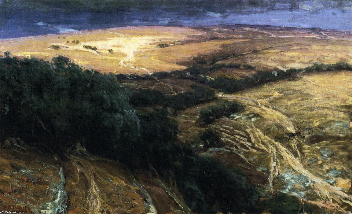 A View in Palestine, 1898 by Henry Ossawa Tanner (1859-1937, United States) | ArtsDot.com