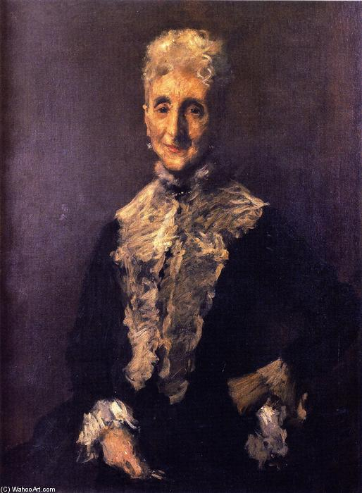 Virginia Stewart, Oil On Canvas by William Merritt Chase (1849-1916, United States)