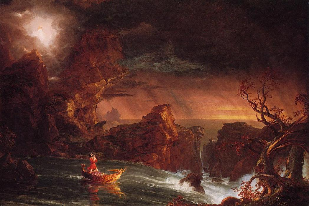 The Voyage of Life: Manhood, Oil On Canvas by Thomas Cole (1801-1848, United Kingdom)
