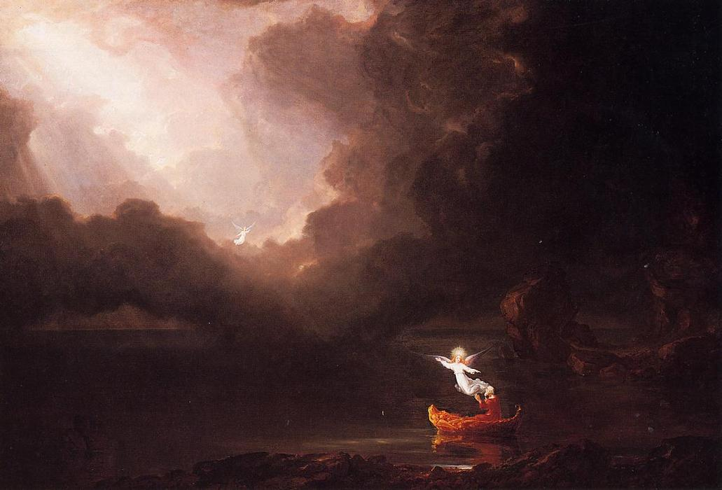 The Voyage of Life: Old Age, Oil On Canvas by Thomas Cole (1801-1848, United Kingdom)