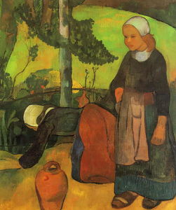 Paul Serusier - Washerwomen