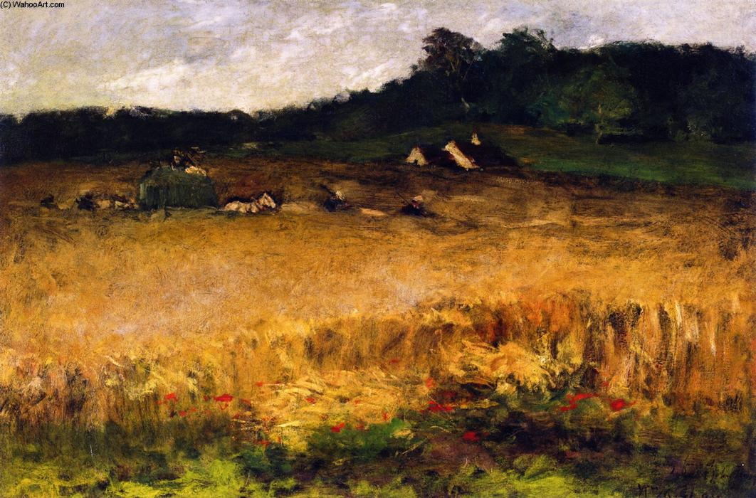 Wheat Field, 1884 by William Merritt Chase (1849-1916, United States) | Painting Copy | ArtsDot.com