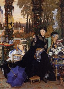 James Jacques Joseph Tissot - A Widow