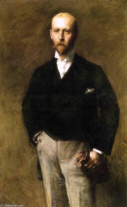 William Charles Le Gendre by William Merritt Chase (1849-1916, United States) | ArtsDot.com