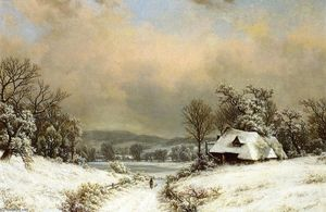 William Mason Brown - Winter in the Country