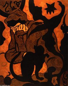 Paul Ranson - Witch and Cat (also known..
