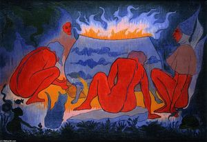 Paul Ranson - Witches around the Fire