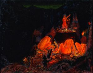 Paul Ranson - Witches in Saturnalia