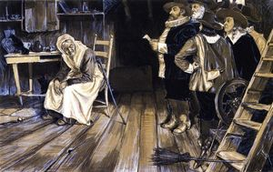Henry Ossawa Tanner - The Witch Hunt