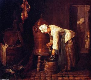 Jean-Baptiste Simeon Chardin - Woman at the Cistern