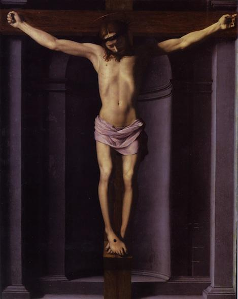Christ on the Cross, 1545 by Agnolo Bronzino (1503-1572, Italy) | Art Reproductions Agnolo Bronzino | ArtsDot.com