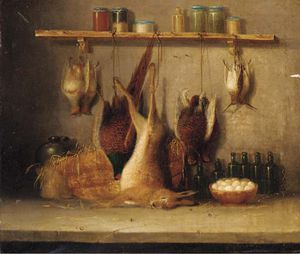 Benjamin Blake - Game In A Larder; And The Day'..