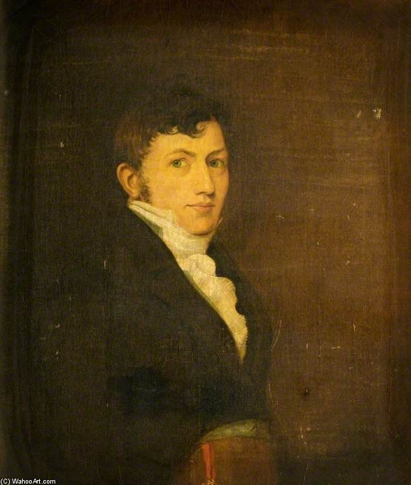 Self Portrait by Benjamin Blake (1757-1830, United Kingdom) | ArtsDot.com