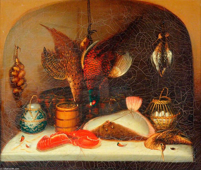Still Life - by Benjamin Blake (1757-1830, United Kingdom) | Art Reproduction | ArtsDot.com