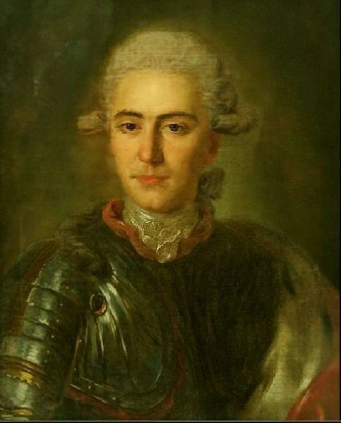 Unknown Man In Armour by Fyodor Stepanovich Rokotov (1730-1808, Russia) | Museum Quality Copies Fyodor Stepanovich Rokotov | ArtsDot.com