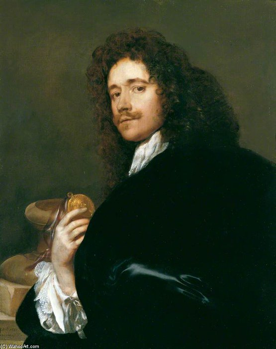 Order Painting Copy : Portrait Of A Gentleman by Adriaen Hanneman (1603-1671, Netherlands) | ArtsDot.com