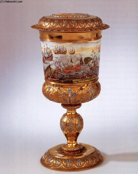 Covered Goblet by Nicolaas Loockemans