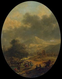 Nicolas Antoine Taunay - Country Landscape
