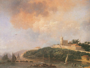 Nicolas Antoine Taunay - View From The Outeiro, Th..