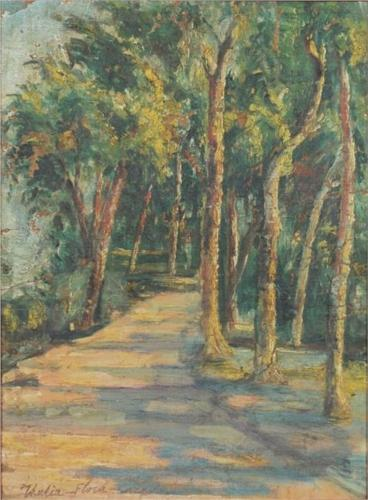 Path In The Forest by Thalia Flora Karavia (1871-1960, Greece)