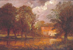 Thomas Churchyard - A House By A River