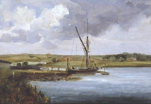 Thomas Churchyard - View On The Deben