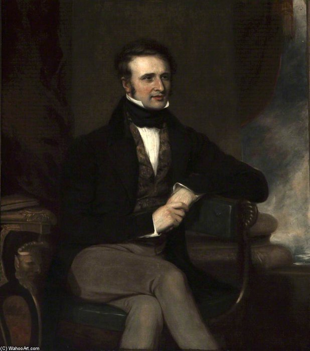 Dudley Ryder, Viscount Sandon by Thomas Clement Thompson
