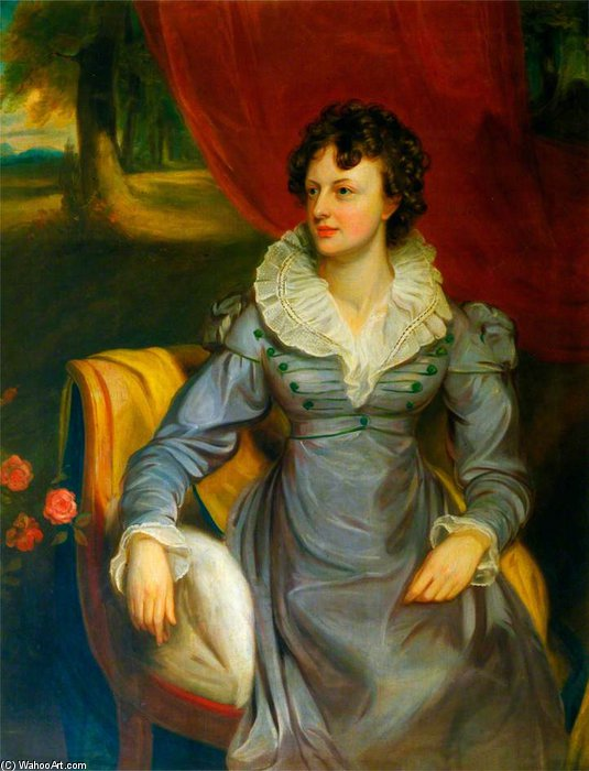 Mrs Elrington by Thomas Clement Thompson
