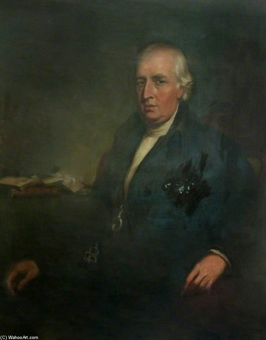 Reverend William Bruce by Thomas Clement Thompson
