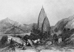 Thomas Colman Dibdin - Hindu Temples Of Mahadeo In Th..