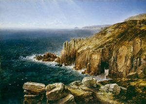 Thomas Creswick - Land's End, Cornwall