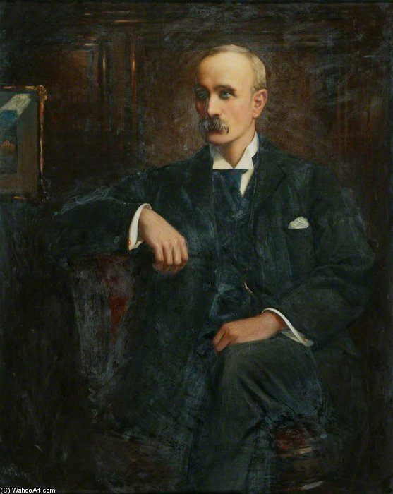 James Thomas Blair by Thomas E Mostyn (1864-1930) | Painting Copy | ArtsDot.com