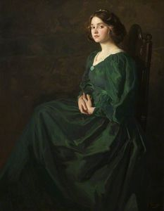 Thomas E Mostyn - The Green Gown