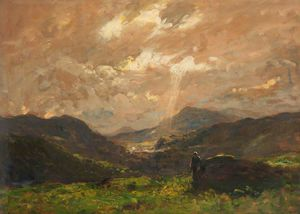 Thomas E Mostyn - The Valley Of Sunshine