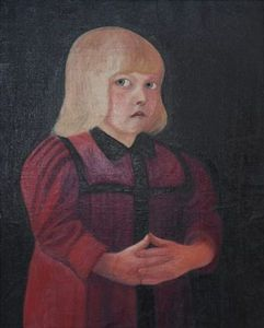 Tivadar Kosztka Csontváry - Child In Red