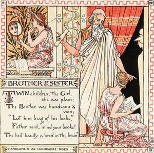 Walter Crane - Brother And Sister