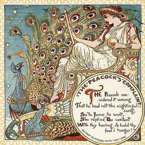 Walter Crane - The Peacock's Complaint