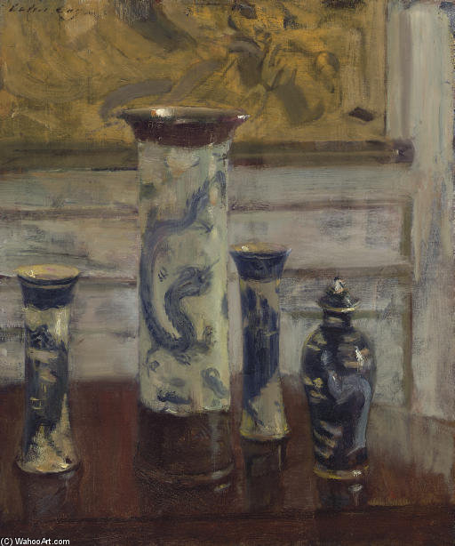 The Vases by Walter Gay (1856-1937, United States)
