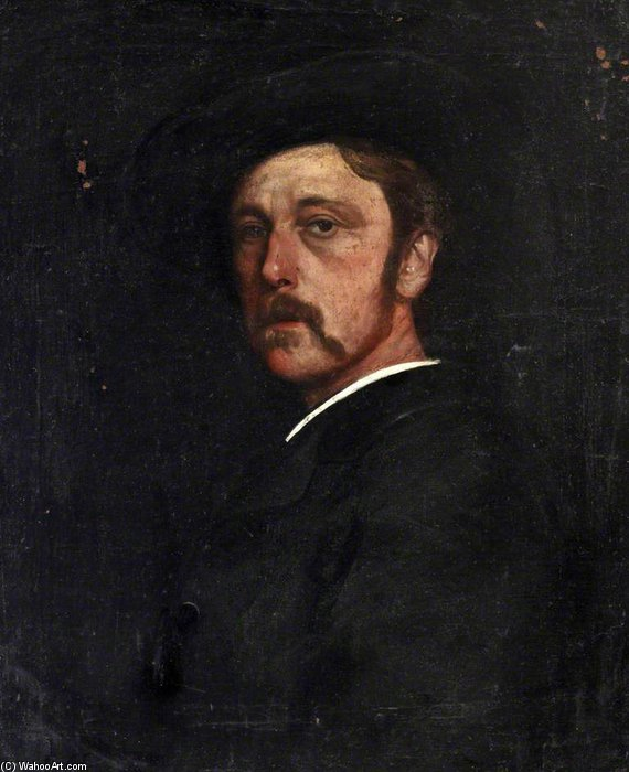 Henry Greaves by Walter Greaves (1846-1930, United Kingdom) | Museum Art Reproductions Walter Greaves | ArtsDot.com