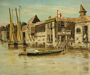 Walter Greaves - The Thames At Chelsea, Lo..