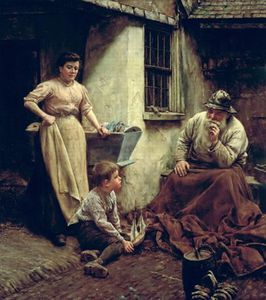 Walter Langley - A Chip Off The Old Block