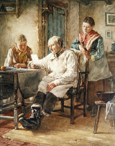 Walter Langley - The Morning Post