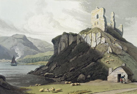 Arros Castle, Isle Of Mull, From 'a Voyage Around Great Britain Undertaken by Thomas And William Daniell (1769-1837, United Kingdom)