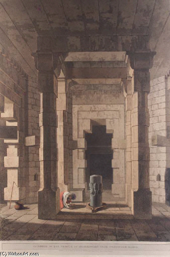 Ruins Of The Palace, Madura, Part Of The Interior Of An Hindoo Temple,at Deo, In Bahar, Interior Of The Temple Of Mandeswara Near Chaynpore, Bahar, Das Avatara by Thomas And William Daniell (1769-1837, United Kingdom)