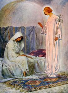 William Henry Margetson - The Annunciation