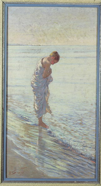 The Sea Hath Its Pearls by William Henry Margetson (1861-1940, United Kingdom) | Museum Quality Reproductions | ArtsDot.com